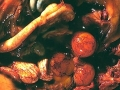Hyperemi och blödningar i ovareifolliklar.